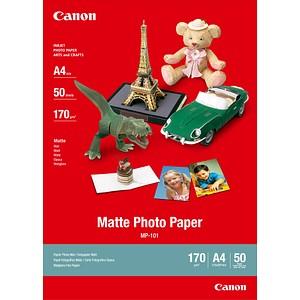 Canon Fotopapier MP-101 DIN A4 matt 170 g/qm 50 Blatt