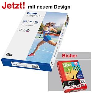 tecno Laserpapier colour print DIN A4 280 g/qm 125 Blatt
