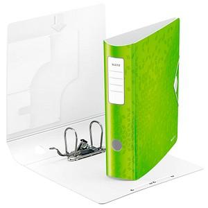 LEITZ Active WOW 1106 Ordner grün Rauten Kunststoff 8,2 cm DIN A4