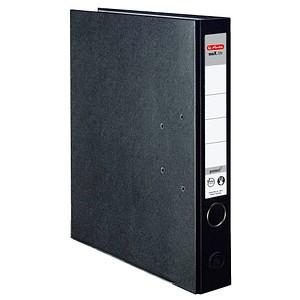 herlitz maX.file protect Ordner schwarz Kunststoff 5,0 cm DIN A4