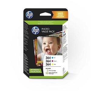 HP Value Pack 364 (T9D88EE) cyan, magenta, gelb Tintenpatronen