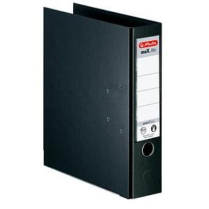 herlitz maX.file protect plus Ordner schwarz Kunststoff 8,0 cm DIN A4
