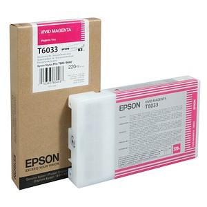 EPSON T6033 vivid magenta Tintenpatrone