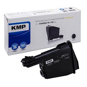 KMP K-T61 schwarz Toner ersetzt Kyocera TK-1125