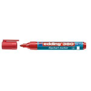 10 edding 380 Flipchart-Marker rot 1,5 - 3,0 mm