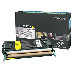 Lexmark C5240YH gelb Toner