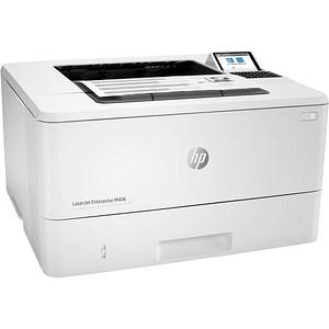 HP LaserJet Enterprise M406dn Laserdrucker weiß