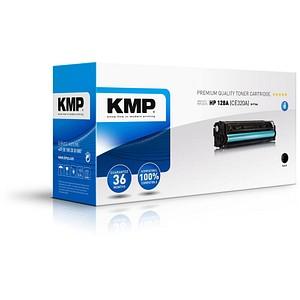 KMP H-T144 schwarz Toner ersetzt HP 128A (CE320A)