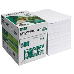 DISCOVERY Kopierpapier DISCOVERY DIN A4 75 g/qm 2.500 Blatt Maxi-Box