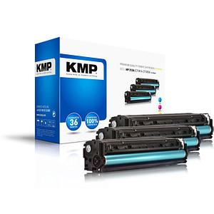 3 KMP SA-T57V cyan, magenta, gelb Toner ersetzen HP 312A (CF440AM)