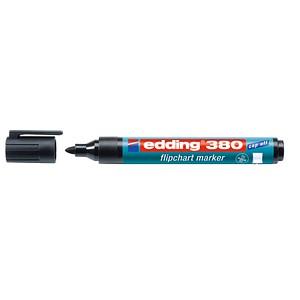 10 edding 380 Flipchart-Marker schwarz 1,5 - 3,0 mm