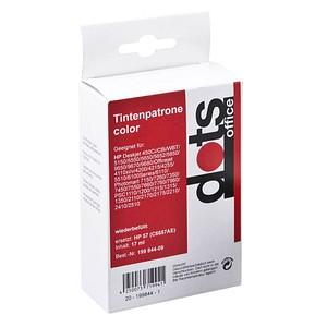 dots   color Tintenpatrone ersetzt HP 57 (C6657AE)