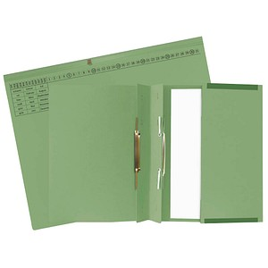 25 Exacompta Hängehefter Exaflex Karton grün
