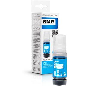 KMP H198 cyan Tintenflasche ersetzt HP 31 (1VU26AE)
