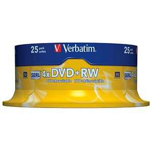 DVD+RW  von Verbatim