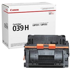 Canon 039H BK schwarz Toner