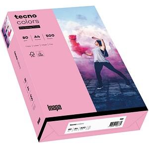 tecno Kopierpapier colors rosa DIN A4 80 g/qm 500 Blatt