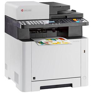 KYOCERA ECOSYS M5521cdw/KL3 4 in 1 Farblaser-Multifunktionsdrucker grau