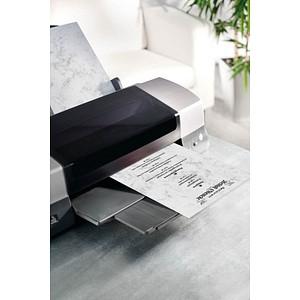 SIGEL Motivpapier Marmor grau DIN A4 90 g/qm 100 Blatt