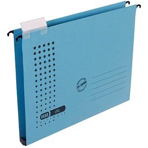 5 ELBA Hängesammler chic blau Boden: 2,0 cm