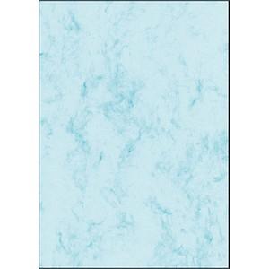 SIGEL Briefpapier Marmor blau DIN A4 200 g/qm 50 St.