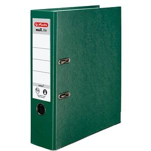 herlitz maX.file protect Ordner grün Kunststoff 8,0 cm DIN A4