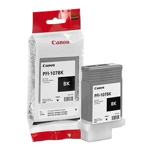 Canon PFI-107 BK schwarz Tintenpatrone