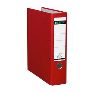 LEITZ 1010 Ordner rot Kunststoff 8,0 cm DIN A4