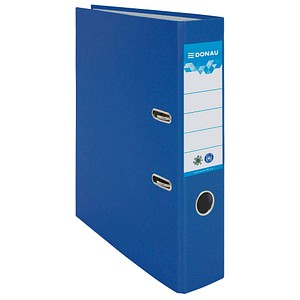 DONAU Öko Ordner blau Karton 7,5 cm DIN A4