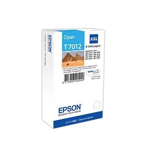 EPSON T7012 cyan Tintenpatrone