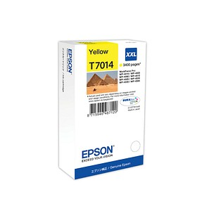 EPSON T7014 gelb Tintenpatrone
