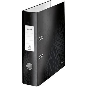 LEITZ WOW 1005 Ordner schwarz Karton 8,0 cm DIN A4