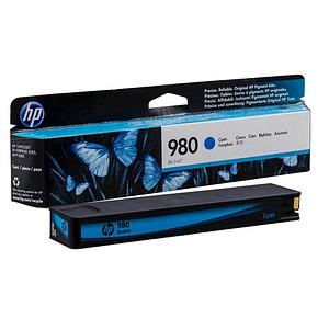 HP 980 (D8JO7A) cyan Tintenpatrone
