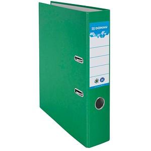 DONAU Öko Ordner grün Karton 7,5 cm DIN A4