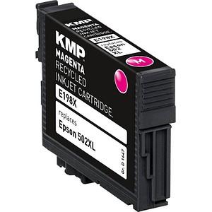 KMP E198X magenta Tintenpatrone ersetzt EPSON 502XL (T02W34)