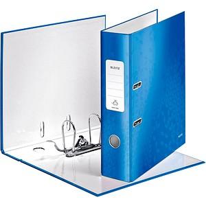 LEITZ WOW 1005 Ordner blau Karton 8,0 cm DIN A4