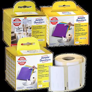 AVERY Zweckform Etiketten & Zubehör für Etikettendrucker