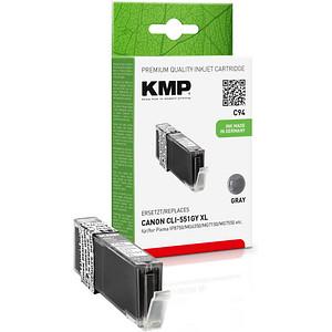 KMP C94 grau Tintenpatrone ersetzt Canon CLI-551 XL GY