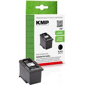 KMP C87 schwarz Druckkopf ersetzt Canon PG-540XL