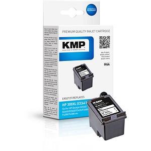 KMP H44 schwarz Tintenpatrone ersetzt HP 300XL (CC641EE)
