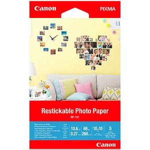 Canon Fotopapier RP-101 10,0 x 15,0 matt 260 g/qm 5 Blatt