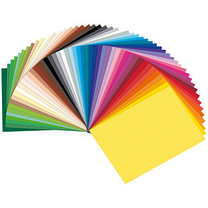 folia Tonpapier Sonderedition 50 farbsortiert 130 g/qm 50 Blatt