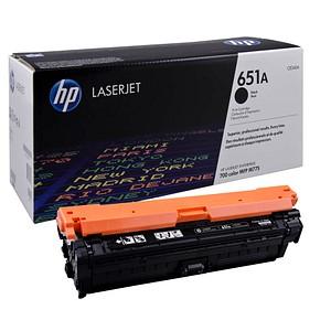 HP 651A (CE340A) schwarz Tonerkartusche