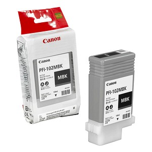 Canon PFI-102 MBK mattschwarz Tintenpatrone