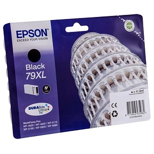 EPSON 79XL / T7901XL schwarz Tintenpatrone