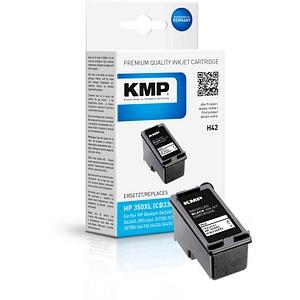 KMP H42 schwarz Tintenpatrone ersetzt HP 350XL (CB336EE)