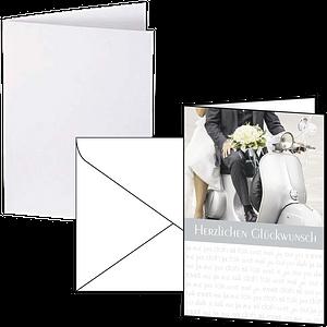 Briefpapier und Karten