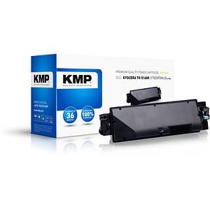 KMP K-T76B schwarz Toner ersetzt KYOCERA TK-5160K