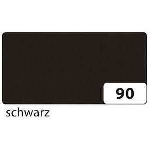 folia Transparentpapier schwarz 70,0 x 100,0 cm 42 g/qm