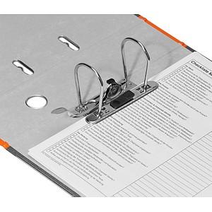 LEITZ 1080 Ordner orange marmoriert Karton 8,0 cm DIN A4